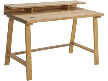 Hasena SEKRETÄR Wildeiche massiv Braun , Holz, 120x86x60 cm