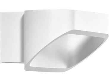 Helestra LED-WANDLEUCHTE , Weiß, Metall, 18x7 cm
