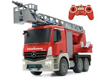 XXXLutz Fernlenk-Feuerwehrauto 1:20, Rot, Silber, Kunststoff, 16x24 cm