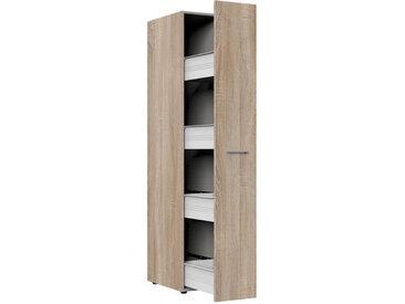 Xora APOTHEKERSCHRANK , Braun, Kunststoff, 30x185x54 cm