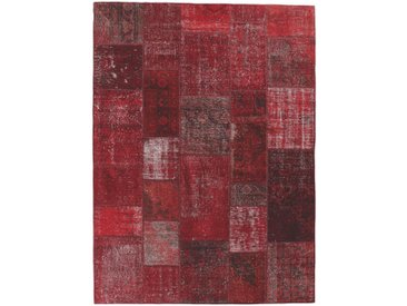 Esposa ORIENTTEPPICH 90/160 cm Rot , Patchwork, 90x160 cm