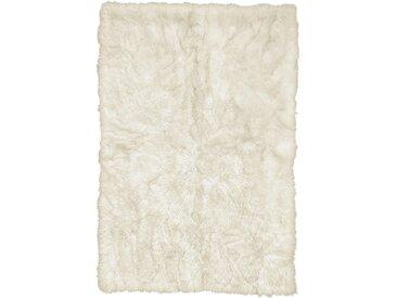 Linea Beigea SCHAFFELL 120/180 cm Weiß , Fell, Uni, 120x180 cm