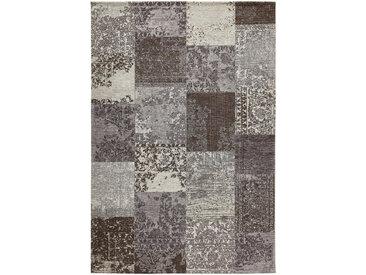 Novel VINTAGE-TEPPICH 155/230 cm Grau , Patchwork, 155x230 cm
