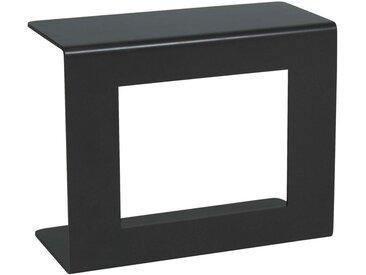 Stern GARTENBEISTELLTISCH Metall , Grau, Uni, 25x43.5x54 cm