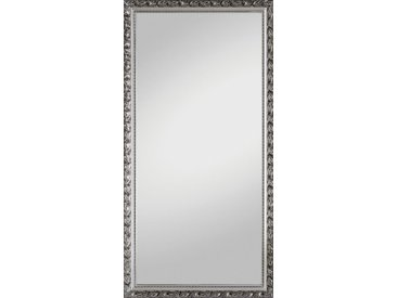 Carryhome WANDSPIEGEL Grau , Glas, vollmassiv, 100x200 cm