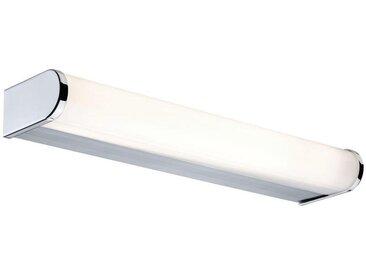 XXXLutz BADEZIMMER-WANDLEUCHTE, Silber, Metall, Kunststoff, 32.6x4x7.8 cm