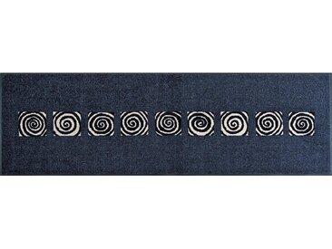 Esposa FUßMATTE 60/180 cm Graphik Blau , 60x180 cm