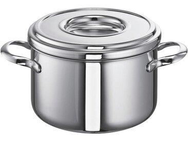 Schulte Ufer FLEISCHTOPF Edelstahl 2,5 L , Silber, Metall