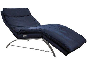 Chilliano LIEGE Echtleder Blau , Leder, 1-Sitzer, 95x91-110x170-190 cm