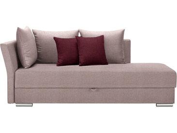 Livetastic LIEGE Webstoff Mehrfarbig , Uni, 4-Sitzer, 220x93x100 cm