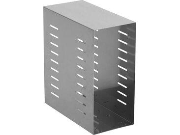 XXXLutz PC-HALTERUNG Metall Silber , 21x47x42 cm