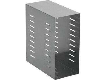 PC-HALTERUNG Metall Alufarben