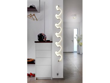 XXXLutz LED-WANDLEUCHTE , Metall, Kunststoff, 164 cm