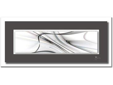 Wiedemann ACRYLGLASBILD Abstraktes , Mehrfarbig, Metall, Kunststoff, 50x125 cm