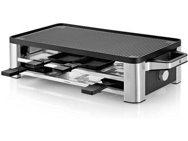 WMF Raclette-Grill Lono , Schwarz, Edelstahl, Metall, 54.5x13 cm