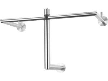 XXXLutz WANDGARDEROBE Silber , Metall, 67x36x30 cm