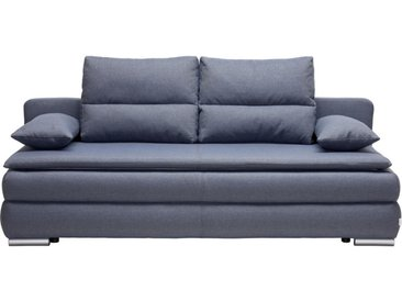 Livetastic SCHLAFSOFA Webstoff Mehrfarbig , Uni, 2-3-Sitzer, 207x94x90 cm