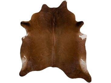 Linea Beigea RINDERFELL 160/250 cm Braun , Fell, Echtleder, Tier, 160 cm