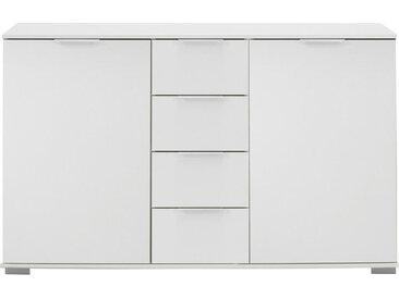 Livetastic ANRICHTE , Weiß, 2 Fächer, 130x83x41 cm