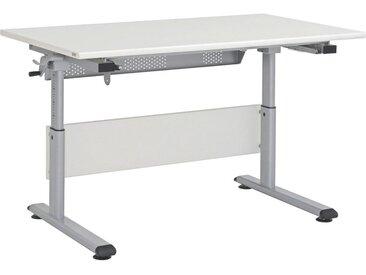 Paidi JUGENDSCHREIBTISCH Grau, Beige , Metall, 120x53-79x70 cm