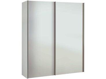 XXXLutz SCHRANK Weiß , 2 Fächer, 175x216x48 cm