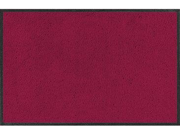 Esposa FUßMATTE 120/180 cm Uni Rot , 120 cm