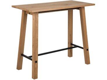 Livetastic: Tisch, Eiche, Schwarz, Eiche, B/H/T 60 105 120