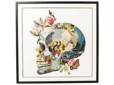 Kare-Design BILD Abstraktes , Mehrfarbig, Glas, 100x100x4 cm