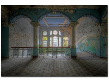 Wiedemann BILD Architektur 'ARE YOU THERE MOM?' , Mehrfarbig, Metall, Kunststoff, 120x80 cm