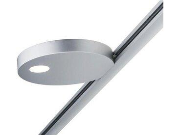 Paulmann Licht URAIL SCHIENENSYSTEM-STRAHLER , Silber, Metall, 13.5x1.9x13 cm
