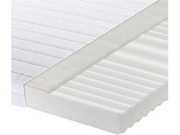 Carryhome KALTSCHAUMMATRATZE Höhe ca. 15 cm , Weiß, H2=mittel bis ca.80kg, 90 cm