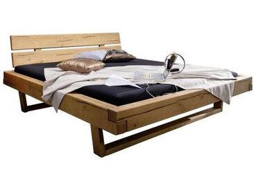 Livetastic BALKENBETT Kiefer massiv , Holz, 200 cm