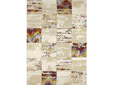 Novel VINTAGE-TEPPICH 160/230 cm Beige , Karo, 160 cm
