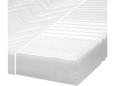 Carryhome KOMFORTSCHAUMMATRATZE Höhe ca. 17 cm , Weiß, H2=mittel bis ca.80kg, 120 cm