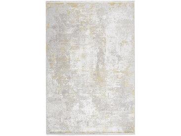 Dieter Knoll VINTAGE-TEPPICH 140/200 cm Gold , Abstraktes, 140x200 cm