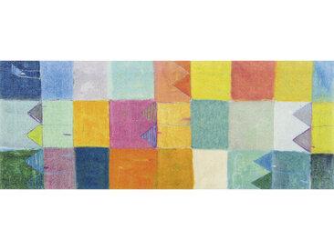 Esposa FUßMATTE 80/200 cm Graphik Mehrfarbig , Mehrfarbig, 80 cm