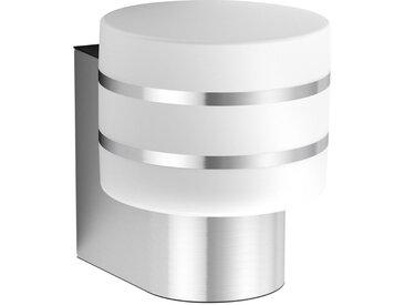 Philips HUE LED-AUßENWANDLEUCHTE HUE WHITE Silber , Metall, Kunststoff, 15x18.5x18 cm