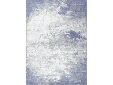 Novel VINTAGE-TEPPICH 125/180 cm Silber , Used look, 125 cm