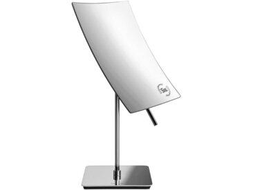 Blomus KOSMETIKSPIEGEL , Grau, Metall, Glas, 11x28.5x14 cm