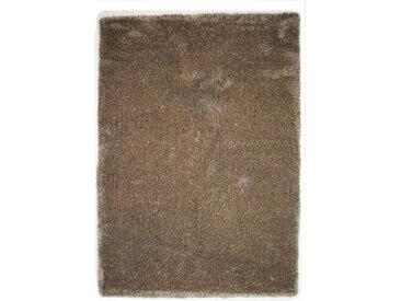 Novel HOCHFLORTEPPICH 130/190 cm Braun, Beige , Uni, 130x190 cm