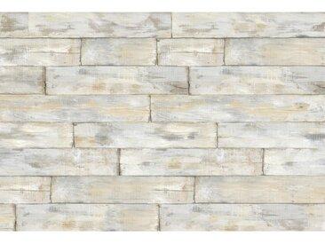 XXXLutz VLIESTAPETE , Braun, Beige, Papier, Holz, 368x248 cm