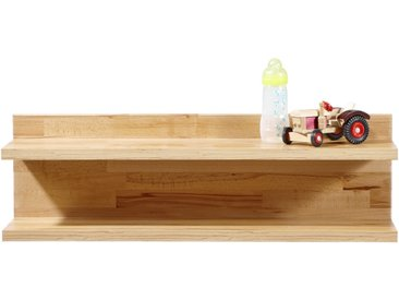 Jimmylee WANDBOARD Holz Kernbuche massiv Mehrfarbig , 90x28x21 cm