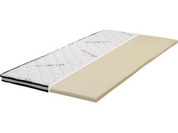 Carryhome TOPPER Schaumstoffkern , Weiß, 140 cm
