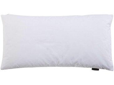 Centa-Star KOPFKISSENBEZUG Vario Beigee 40/80 cm , Weiß, 40x80 cm