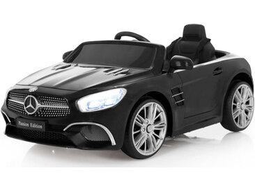 XXXLutz KINDERAUTO JAMARA Mercedes-Benz SL 400 , Schwarz, Silber, Kunststoff, 63x45 cm