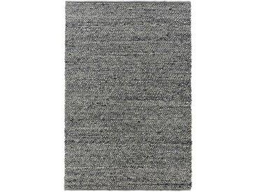 Linea Beigea HANDWEBTEPPICH 130/200 cm Grau , Uni, 130x200 cm