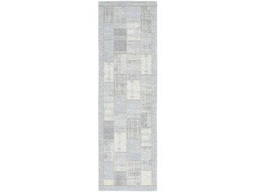Novel LÄUFER 68/220 cm Blau , Patchwork, 68 cm