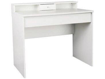 Livetastic SCHMINKTISCH Weiß , Kunststoff, 95x85x56 cm