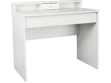 MID.YOU SCHMINKTISCH Weiß , Kunststoff, 95x85x56 cm