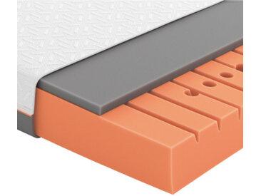 Schlaraffia Partnermatratze Gelschaum Höhe ca. 20 cm , Weiß, Grau, H3+H3=fest ab ca.80kg, 200 cm